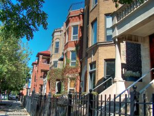 Wrigleyville/Shefield Ave. apartments; across the street from left field